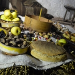 """Christmas Eve at the Open-air Museum """"Old Village"""" in Sirogojno"""